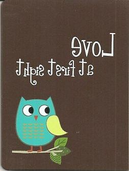 1 blue owl cover photo album holds