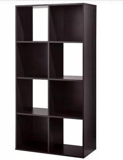 "11"" 8 Cube Organizer Shelf Storage Decor"