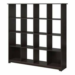 16 Compartment Book Case Storage Cubes Furniture Room Divide