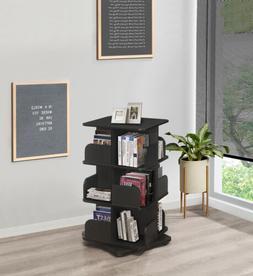 Kings Brand Furniture - 3-Tier Revolving Bookcase, Media Sto