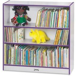 """Rainbow Accents 36"""" Bookcase - 36"""" Height x 36.5"""" Width x 11"""