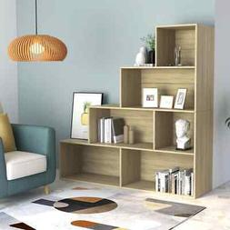 4 Tier Bookcase Cube Book Cabinet Corner Shelf Room Divider