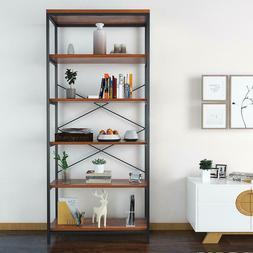 5-tier Bookcase Book Shelf Organizer Display Rack Storage Ho