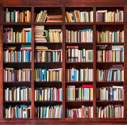 5x7ft vinyl bookshelf bookcase study library school