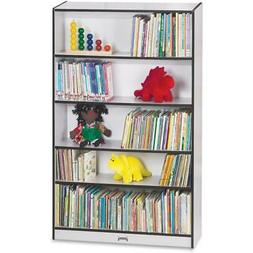 """Rainbow Accents 60"""" Bookcase - 59.5"""" Height x 36.5"""" Width x"""
