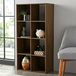8 Cube Open Storage Organizer Shelves Bookcase Easy Assembly