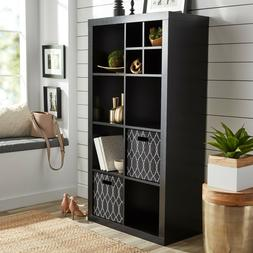 Better Homes And Gardens 8 Cube Storage Organizer Black