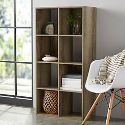 8 Cube Storage Organizer Bookcase Home Office Display Booksh