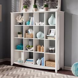 Bush Furniture Aero 16-Cube Bookcase/Room Divider