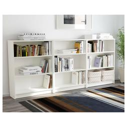 Adjustable 3 Shelf Bookcase Storage Book Bookshelf Shelving