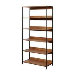 Furniture of America Allan Contemporary 6-Layer Bookshelf in