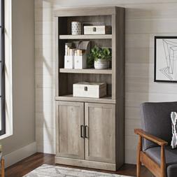 Better Homes & Gardens Glendale 5 Shelf Bookcase with Doors,