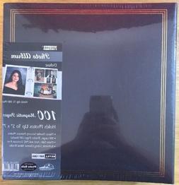 blue photo album w 100 magnetic pages