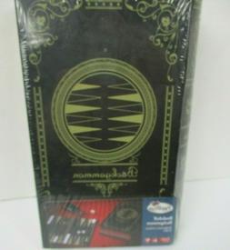 Bookshelf Backgammon Game in Book Case Toys R Us 2010 New Se