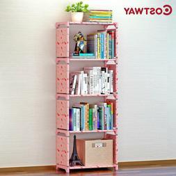 COSTWAY Bookshelf Storage Shelve for books Children book rac