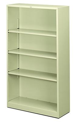 HON Brigade Metal Bookcase - Bookcase with Two Shelves, 34-1