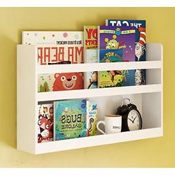 brightmaison Children's Kids Room Wall Shelf Wood Material G