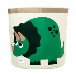 3 Sprouts Cotton Canvas Storage Bin Size Extra Large Dinosau