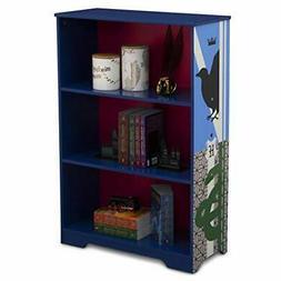 Delta Children Deluxe 3-Shelf Bookcase - Ideal for Books Dec