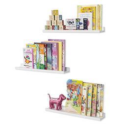 Wallniture Denver Wall Mounted Floating Shelves for Nursery