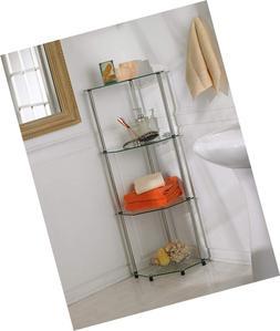 Convenience Concepts Designs2Go Go-Accsense 4-Tier Glass Cor