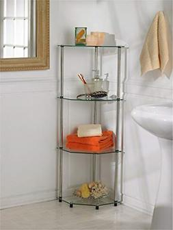 designs2go go accsense 4 tier glass corner