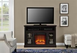 """Electric Fireplace TV Stand 50"""" Heating Media Console Bookca"""