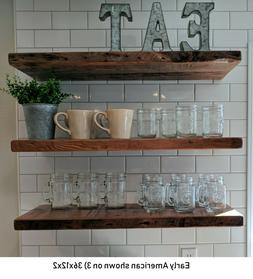 Floating Shelf - Reclaimed Barn Wood - Premium Floating Shel