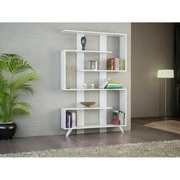 Geometric Bookcase63.8'' H x 47.3'' W x 7.9'' D