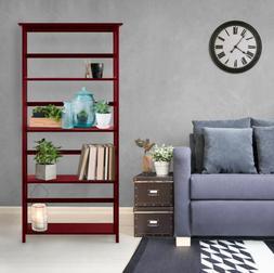 Home Office Wooden Bookcase Storage Bookshelf Shelves 4 Tier