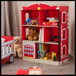 Baby Nursery Bookcase Kids Boys Child Hero Modern Design Fir
