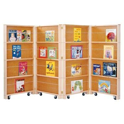 0267jc mobile library bookcase