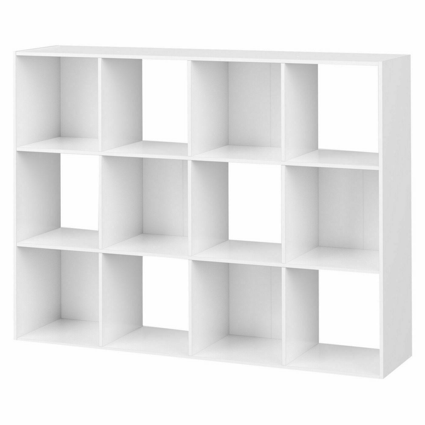 12-Cube Organizer Closet Shelf Box