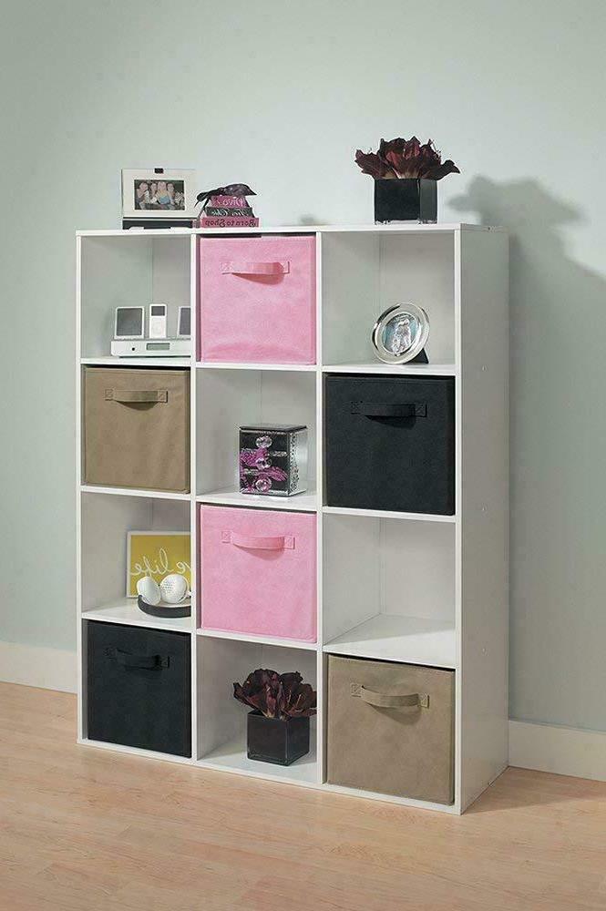 12-Cube Organizer Shelf
