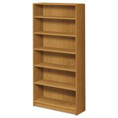 1890 Series Bookcase, 6 Shelves, 36w x 11-1/2d x 72-5/8h, Ha