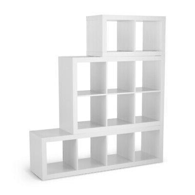 2 Cube Bookshelf Storage Shelves Organizer Display Divider Storage