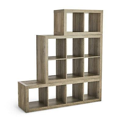 2 Storage Shelves Display Divider Storage