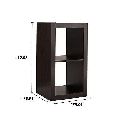 2 Bookcase Display Divider Storage