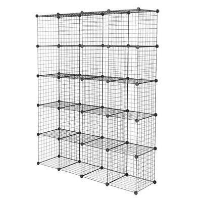 20 Cubes Wire Cabinet Wardrobe