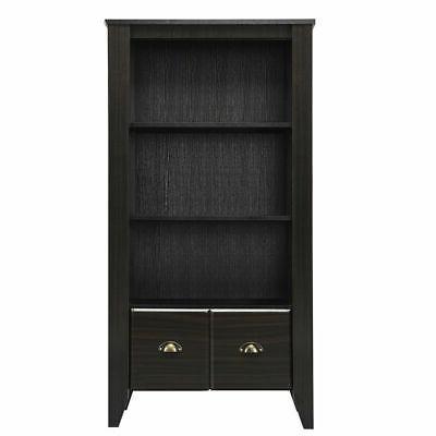 3 Shelf Bookcase Adjustable Furni