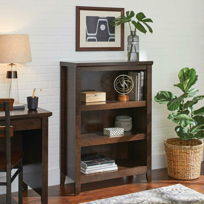 3-Shelf Bookcase Book Shelves Furniture New