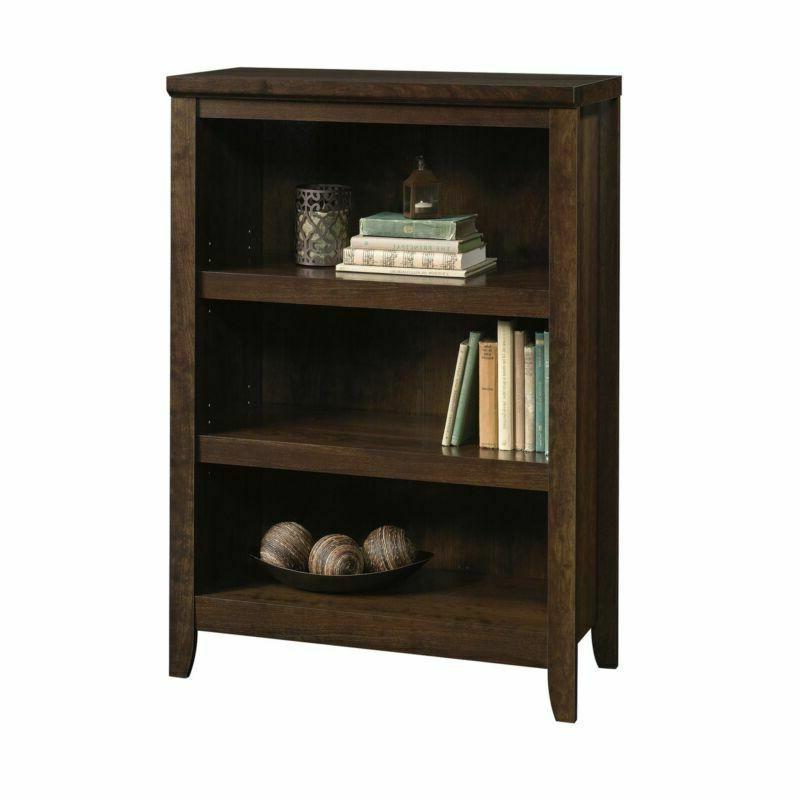 3-Shelf Adjustable Book Home Furniture Brown