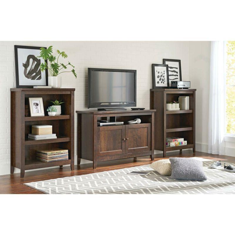 3-Shelf Wooden Book Shelves Furniture