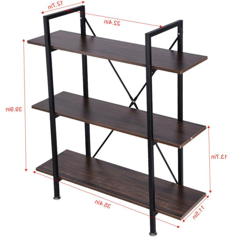 3-Tier Book Shelves And