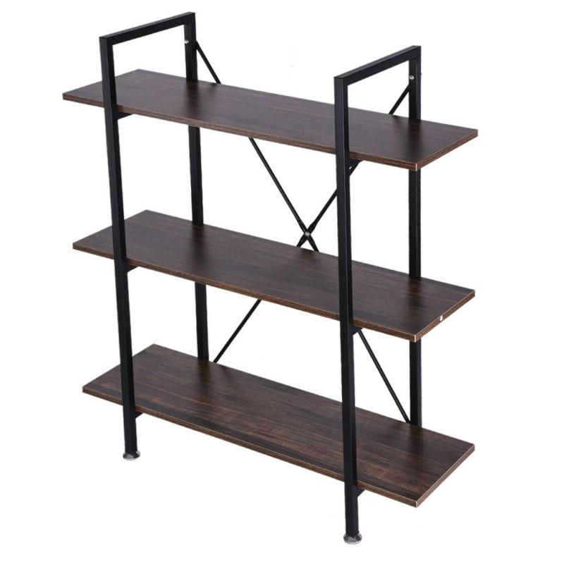 3-Tier And Book Shelves And
