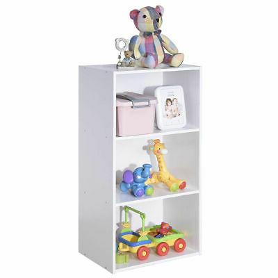 3 Tier Open Shelf Bookcase Multi-functional Storage Display