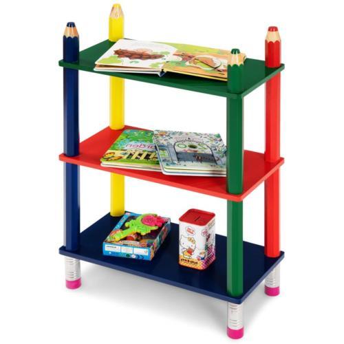 3 tiers kids book shelf open shelf
