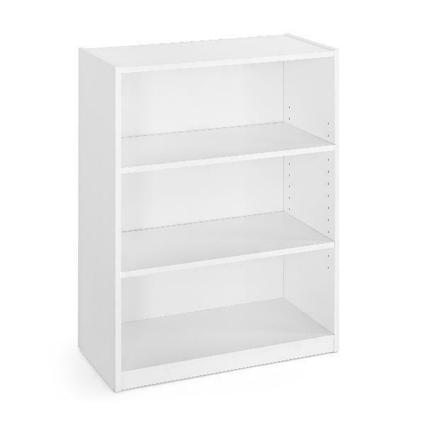 white 31 3 shelf bookcase