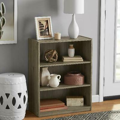 "31"" Shelf Bookcase Closed Storage Shelves Bookshelf Oak"