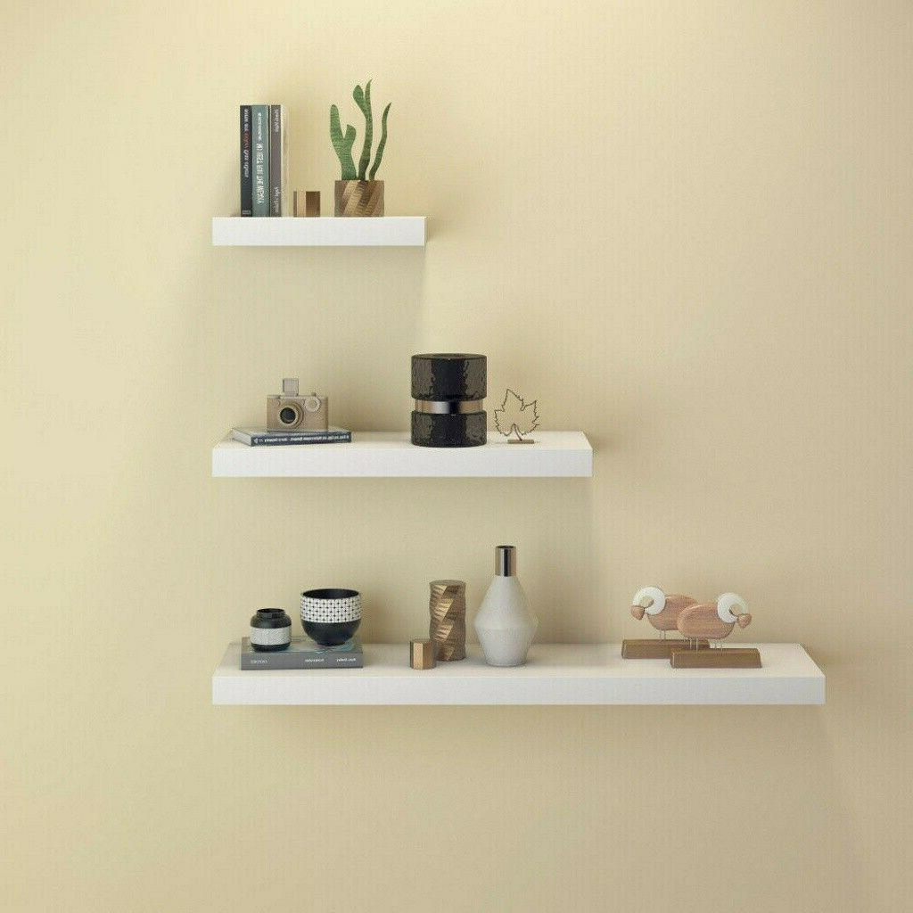 Home Decor Shelves 3PC Ledge Shelving Storage